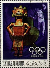 [Airmail - Olympic Games - Mexico City, Mexico, Typ HP]