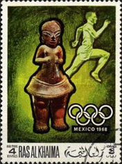[Airmail - Olympic Games - Mexico City, Mexico, Typ HQ]
