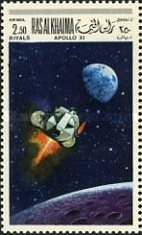 [Airmail - Space Programs Apollo 10 and 11, Typ JX]