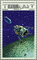 [Airmail - Space Programs Apollo 10 and 11, Typ JY]