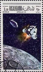 [Airmail - Space Programs Apollo 10 and 11, Typ JZ]
