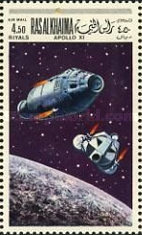 [Airmail - Space Programs Apollo 10 and 11, Typ KB]