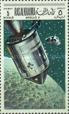 [Airmail - Space Programs Apollo 10 and 11, Typ KC]