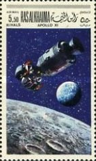 [Airmail - Space Programs Apollo 10 and 11, Typ KD]