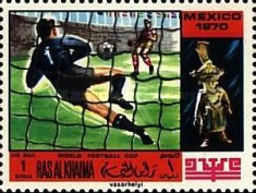 [Airmail - Football World Cup - Mexico, Typ KY]