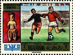 [Airmail - Football World Cup - Mexico, Typ KZ]