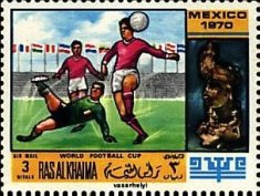[Airmail - Football World Cup - Mexico, Typ LA]