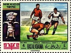 [Airmail - Football World Cup - Mexico, Typ LB]