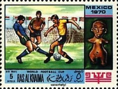 [Airmail - Football World Cup - Mexico, Typ LC]
