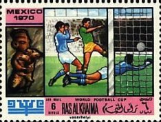 [Airmail - Football World Cup - Mexico, Typ LD]