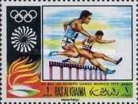 [Airmail - Olympic Games - Munich 1972, Germany, Typ MC]