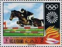 [Airmail - Olympic Games - Munich 1972, Germany, Typ MG]