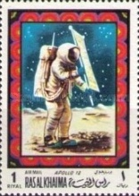 [Airmail - Space Travel, Typ OA]
