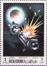 [Airmail - Space Travel, Typ OB]