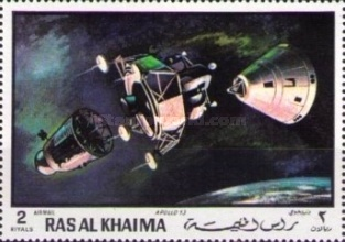 [Airmail - Space Travel, Typ OH]