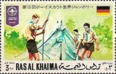 [Airmail - World Scout Jamboree in Japan, Typ RM]