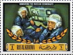 [Airmail - In Memory of the Russian Cosmonauts on Soyuz 11, Typ RQ]
