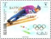 [Airmail - Gold Medal Winners - Winter Olympic Games - Sapporo, Japan, Typ RW]