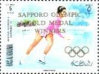[Airmail - Gold Medal Winners - Winter Olympic Games - Sapporo, Japan, Typ RZ]