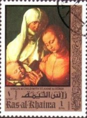 [Airmail - The 500th Anniversary of the Birth of Albrecht Durer, 1471-1528, Typ TP]