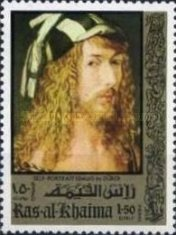 [Airmail - The 500th Anniversary of the Birth of Albrecht Durer, 1471-1528, Typ TQ]