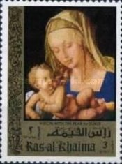 [Airmail - The 500th Anniversary of the Birth of Albrecht Durer, 1471-1528, Typ TS]