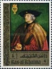 [Airmail - The 500th Anniversary of the Birth of Albrecht Durer, 1471-1528, Typ TT]