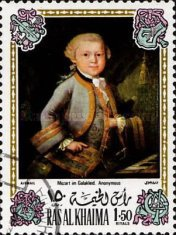 [Airmail - Wolfgang Amadeus Mozart, Austrian Composer - Paintings, Typ WB]