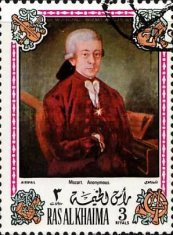 [Airmail - Wolfgang Amadeus Mozart, Austrian Composer - Paintings, Typ WD]