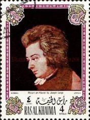 [Airmail - Wolfgang Amadeus Mozart, Austrian Composer - Paintings, Typ WE]