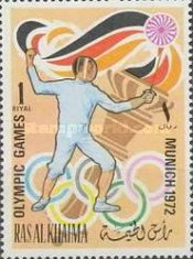 [Olympic Games - Munich, Germany, Typ WH]