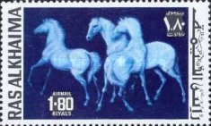 [Airmail - Horses, Typ WR]