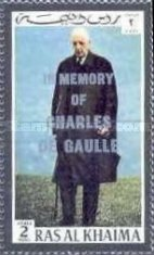 [Airmail - Charles de Gaulle Commemoration, Typ XL]