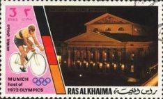 [Airmail - Olympic Games - Munich, Germany - Munich Buildings, Typ ZH]