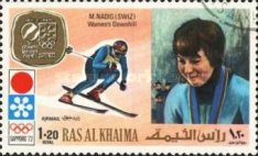 [Airmail - Gold Medal Winners of Winter Olympic Games - Sapporo, Japan, Typ ZO]