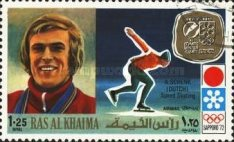 [Airmail - Gold Medal Winners of Winter Olympic Games - Sapporo, Japan, Typ ZP]