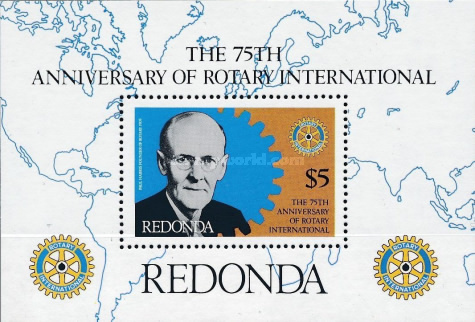 [The 75th Anniversary of Rotary International, type ]