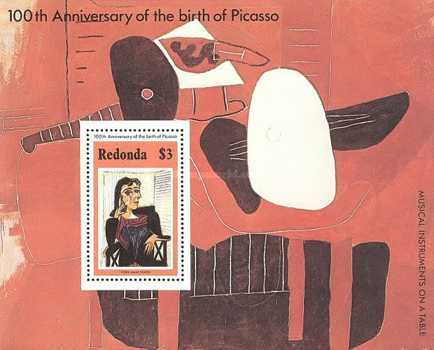 [Paintings - The 100th Anniversary of the Birth of Pablo Picasso, 1881-1973, Typ ]