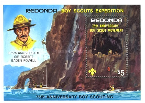 [The 75th Anniversary of Boy Scouting, type ]