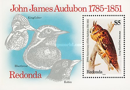 [The 200th Anniversary of the Birth of John James Audubon, 1785-1851, Typ ]