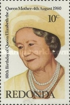 [The 80th Anniversary of the Birth of Queen Elizabeth, 1900-2002, type AQ]