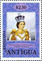 [Antigua Postage Stamps Overprinted