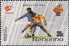 [Football World Cup 1982 - Spain, Typ BR]