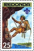 [The 75th Anniversary of Boy Scouting, type CB]