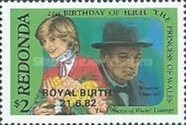 "[Previous Issue Overprinted ""Royal Baby 21.6.82"", type CK1]"