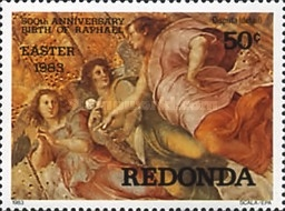 [Easter Paintings - The 500th Anniversary of the Birth of Raphael, 1483-1520, Typ CZ]