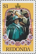 [The 85th Anniversary of the Birth of Queen Elizabeth, 1900-2002, Typ ES]