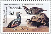 [Birds - The 200th Anniversary (1985) of the Birth of John James Audubon, 1785-1851, Typ FN]