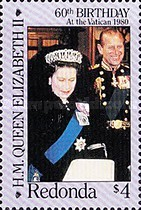 [The 60th Anniversary of the Birth of Queen Elizabeth II, Typ GB]