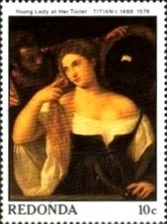 [Paintings - The 400th Anniversary of the Birth of Titian, type JE]